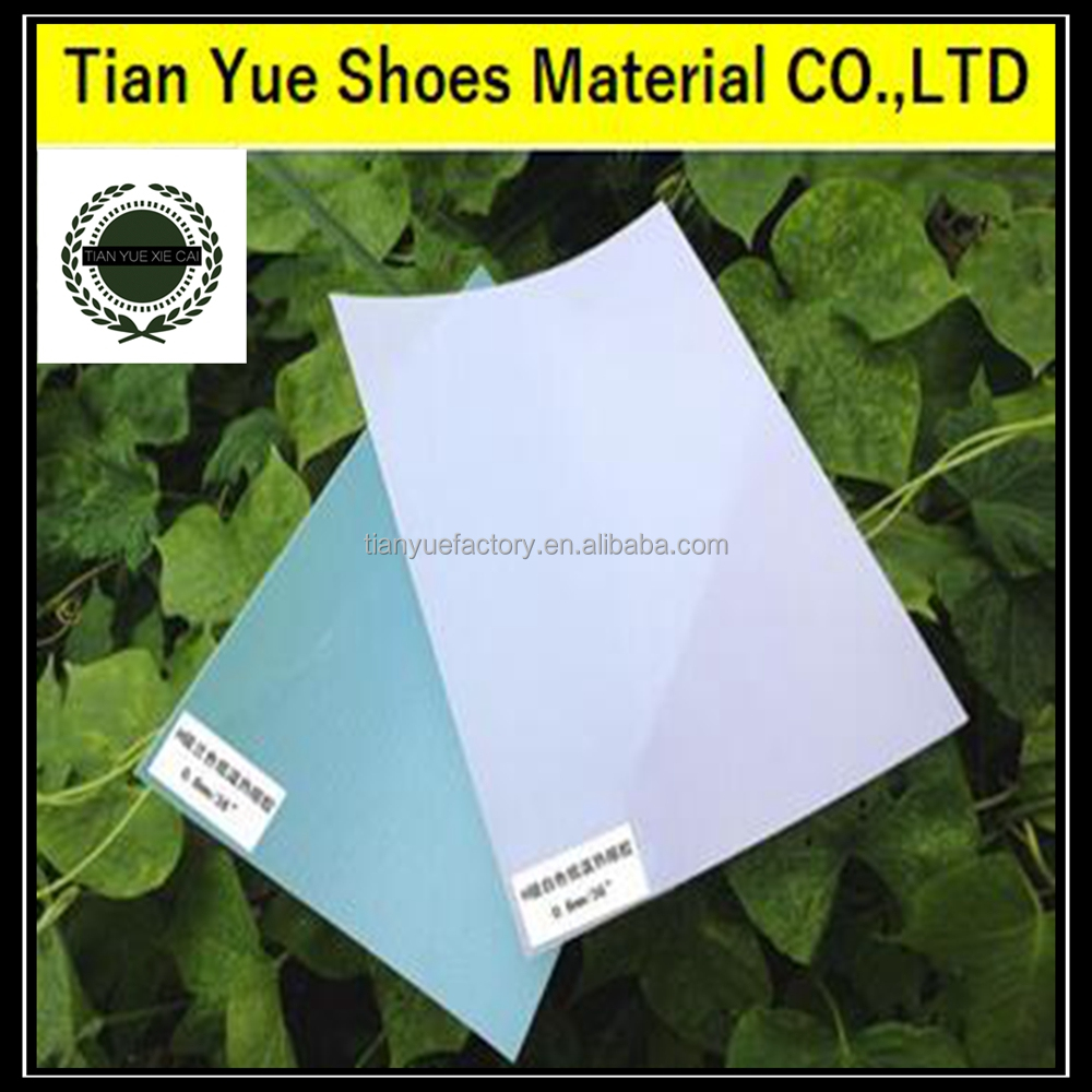 Shoes Toe Puff Material TPU Shoe Stiffener Thermoplastic Hot Melt Sheet