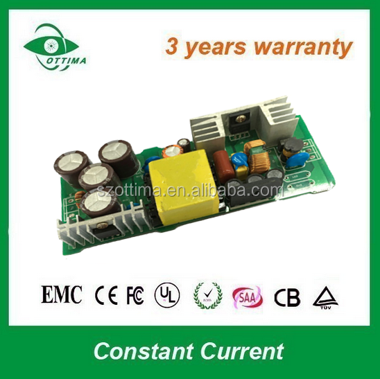 Constant Current non waterproof 100w led driver circuit 36v 3a for flood light