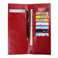 Factory custom a5 bill holder business check holder with pen