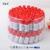 build your own nail art kits private label manufacturers 3g transparent liquid non toxic nail glue