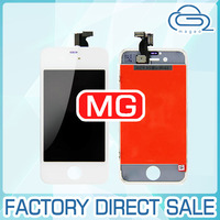 for apple iphone 4s lcd + digitizer touch screen + glass assembly