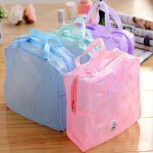small cosmetic bag eco clear pvc plastic bag