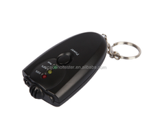 Mini keychain/ key ring accurate breath alcohol tester drop shipping