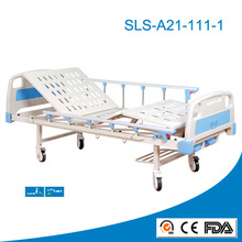 High Quality Medical Furniture One Crank Manual Hospital Bed