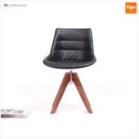 luxury designs wooden leather dining chair