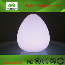 Pear Shape Room Lamps with Battery LED Lights