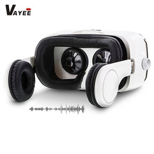 New Arrival VR Box Headsets 3D Glasses 2.0 Camera 9D Cardboard All In One Ps4 Play Store App Free Download Bf Movie