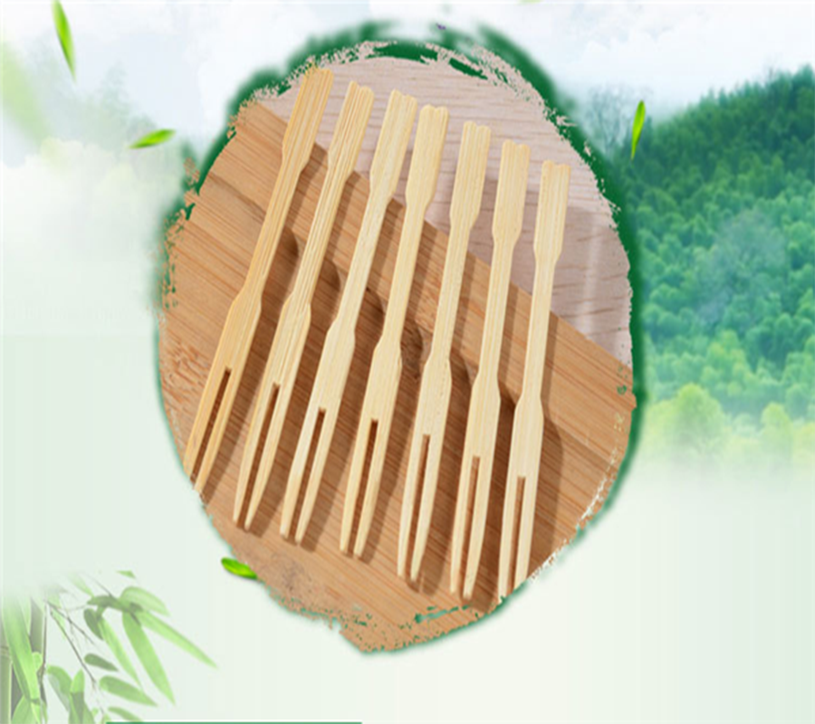 high quality bamboo stick 100% natural bamboo fruit stick