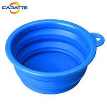 Colorful Easy Folding Silicone Pet Bowl for Dog
