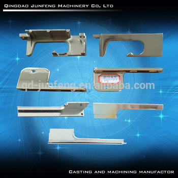 OEM customzied zamak die casting with polished and nickel plating for Fridge hinge