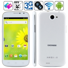 Original DOOGEE DISCOVERY 2 DG500C 4GB, Network: 3G 5.0 inch Android 4.2.2 MTK6582 1.3GHz Quad Core, RAM: 1GB, Dual SIM