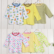 wholesale baby clothing korean style long sleeve baby t-shirt