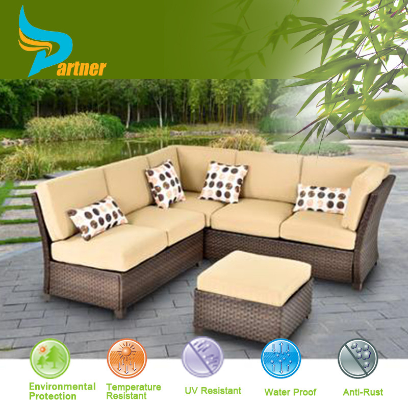 Led Patio Sala Sets Furniture Rattan Sectional Malaysia Wood Sofa Set Patio Furniture Factory Direct wholesale