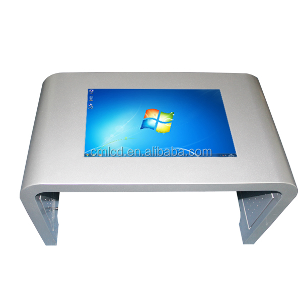 21.5 inch Indoor wifi waterproof IR touch screen floor stand HD smart touch table