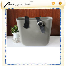 New fashion handmade purse online ffrom turkey silicone eva bag with inner bag and handle