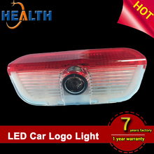 Door light 3D led car door logo laser shadow projector light