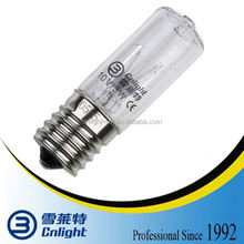 Mini 254nm UV germicidal lamp bulb for microwave oven