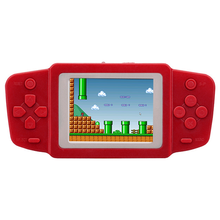 2017 NEW HOT Childhood Classic Handheld Game With 268 Games 2.5 Inch 8 Bit PVP Portable Handheld retro Game Console