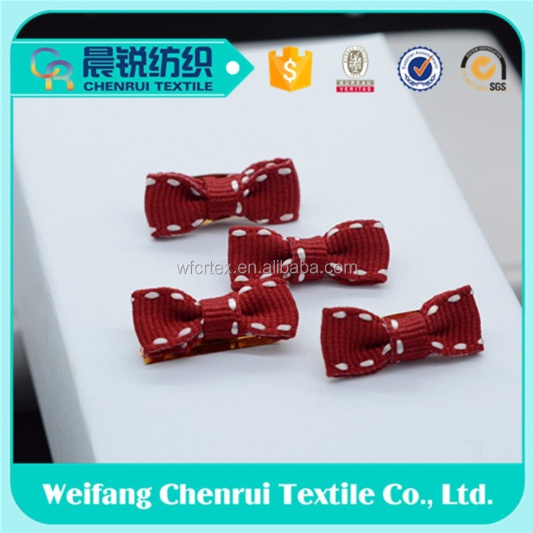 High Quality bow and garment for Mini ribbon Bow