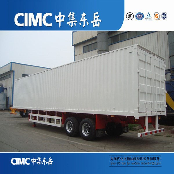 CIMC Three Axles Steel Sheet Bulk Grain Semi Trailer