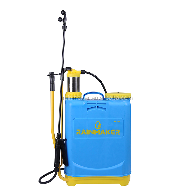 Rainmaker 16L Plastic and Metal Backpack Manual Sprayer with Stainless Steel Lance