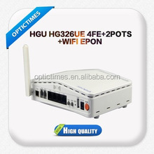 FTTH 4 GE epon onu modem gpon/gepon onu or ont with wifi price