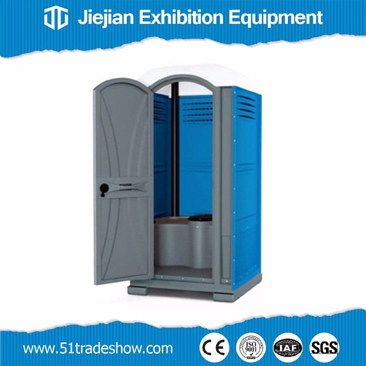 Portable outhouses pvc public toilet