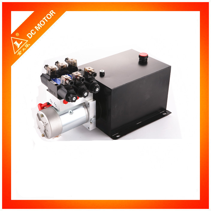 Steel hydraulic oil tank hydraulic power pack unit 12v 24v