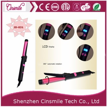 hair curler digital temperature control hair curling iron