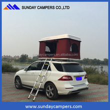 4x4 fiberglass car hard shell roof top tent