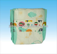disposable breathable PE backsheet baby diapers manufacture in china