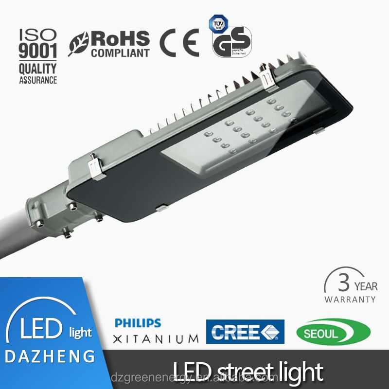 warranty 3 year& best chips OEM led street light for Latin American and Caribbean Market