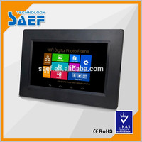 7, 10.1, 14, 15.6, 21.5 inch 1024*600 resolution android monitor advertising display