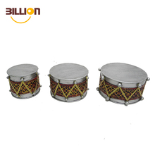 Metal Crafts Three Drums Wholesale Christmas Decorations
