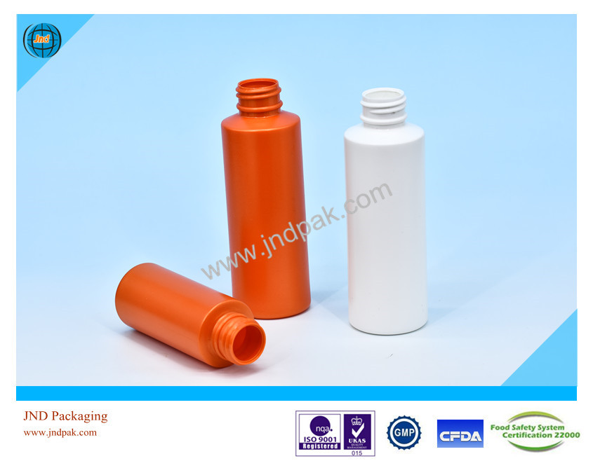 Plastic HDPE milk bottle by GMP standard plant with FSSC22000 certificate