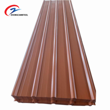 Width 840mm metal corrugated roofing sheets with emossed diamond for sale