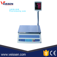 Good Quality Bright dual LED display Electronic Price Computing Scale