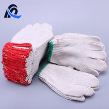Manufacture Cotton Driving Gloves Knitted Cotton Gloves For Industrial Use