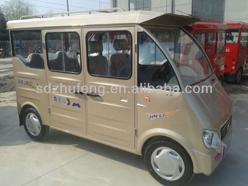 4 wheeler electric +fuel tricycle made in china