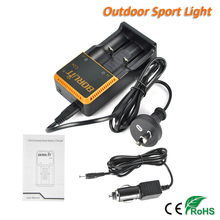 Boruit C2E Intelligent Universal Battery Charger AAA AA Li-ion/ Ni-MH / Ni-Cd Rechargeable 18650 Battery Charger