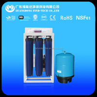Iron tank with 400 gallon commercial water filters