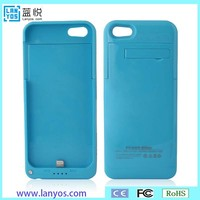 Lithium battery 4200mAh external power bank charger pack backup battery case for iphone 5 5s 5c