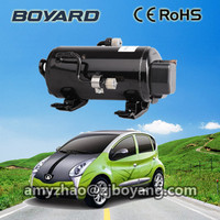 portable air conditioner for cars with boyard 12v 24v horizontal dc air conditioner compressor