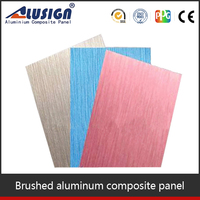 Alusign colorful stone coated metal roofing sheet