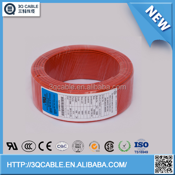 plastic cover flat ribbon wire