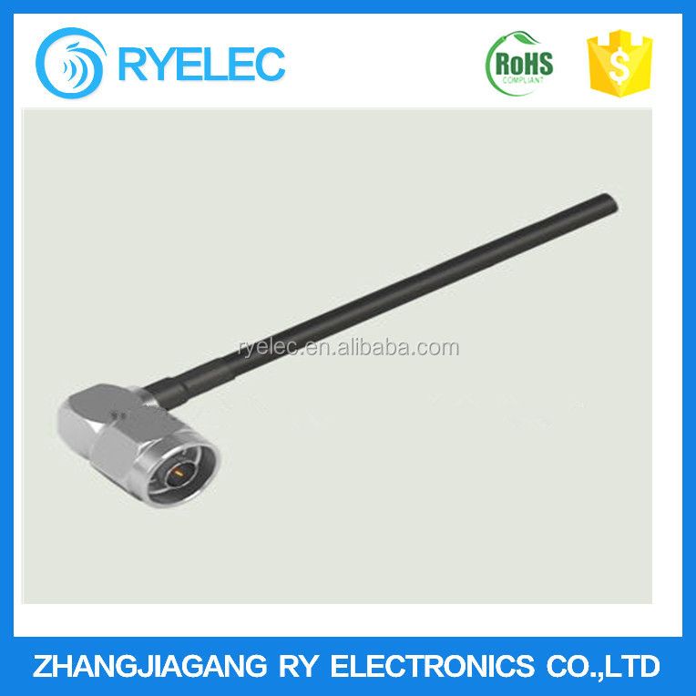 Automotive RF Connector with N M Right Angle Plug to Cut for LMR-400 Cable Assembly for Car