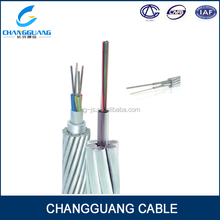 Material and structure are uniform aluminum OPGW dc 24v power cable