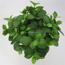 Factory direct sale cheap artificial fake leaf with 85 leaves for home decor