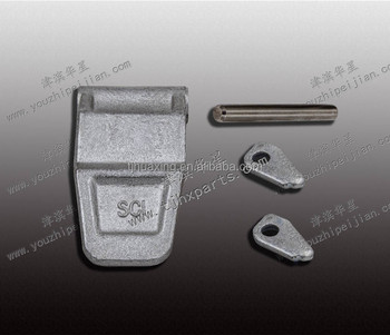 High quality Tianjin HUAXING container door parts door hinge lock pin hinge plug hinge blade for sale