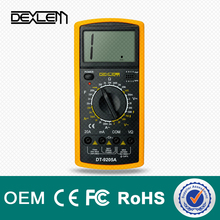 DELE dt9205 smart digital analog multimeter manual with probe